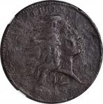 1793 Flowing Hair Cent. Wreath Reverse. S-11A. Rarity-4+. Vine and Bars Edge. EF Details--Corrosion