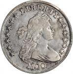 1800 Draped Bust Silver Dollar. BB-187, B-16. Rarity-2. VF Details--Cleaning (PCGS).