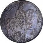 GERMANY. Saxony. Taler, 1657. Johann Georg II (1656-80). NGC AU-58.