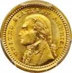 1903 Louisiana Purchase Exposition Gold Dollar. Jefferson Portrait. MS-66 (PCGS).