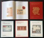 1996-1997 苏富比邮品拍卖目录5 册: 1/ China Red Revenue Covers. 2/ Postage Stamps of the Far East. 3/ Treaty Po