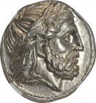 MACEDON. Kingdom of Macedon. Philip II, 359-336 B.C. AR Tetradrachm (14.38 gms), Posthumous Issue of