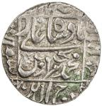 India - Mughal Empire. MUGHAL: Murad Bakhsh, 1658, AR rupee (11.54g), Surat, AH1068 year one (ahad),