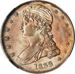 1838 Capped Bust Half Dollar. Reeded Edge. HALF DOL. GR-11. Rarity-1. MS-61 (NGC).