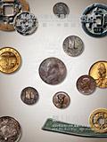 上海泓盛2020年秋拍-金银锭 机制币
