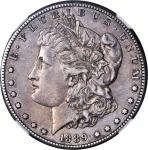 1889-CC Morgan Silver Dollar. AU Details--Improperly Cleaned (NGC).