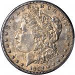 1889-CC Morgan Silver Dollar. AU-55 (PCGS).