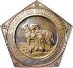 AUSTRIA. Silver Austrian Club for Luxury Dogs Medal, ND (ca. 1950). CHOICE PROOF.
