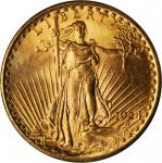 1924 Saint-Gaudens Double Eagle. MS-65 (PCGS). OGH--First Generation.