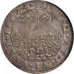 SWEDEN. 3 Mark, 1562. Stockholm Mint. Erik XIV (1560-68). NGC AU Details--Reverse Scratched.