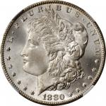 1880-CC Morgan Silver Dollar. VAM-5. Top 100 Variety. 8/High 7. MS-67 (NGC).