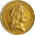1724年英国乔治一世1几内亚金币。