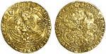 Edward IV 1﨎t reign (1461-70), Ryal, 7.53g, mm. -/sun, ed/ward瀦 di: gra瀦 rex?angl瀦 z?franc瀦/?dns瀦i?b