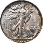 1919-D Walking Liberty Half Dollar. MS-63 (PCGS). CAC.