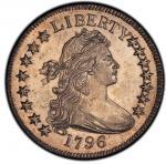 1796 Draped Bust Half Dollar. Overton-101. 15 Stars. Rarity-8 as a Specimen. Specimen-63 (PCGS).PCGS