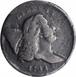 1794 Liberty Cap Half Cent. C-6a. Rarity-5+. VG-8 (PCGS).
