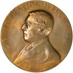 1913 Woodrow Wilson Inaugural Medal. Dusterberg-5. Bronze. 69.9 mm. About Uncirculated.