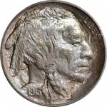 1913-S Buffalo Nickel. Type II. MS-65 (PCGS).
