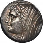 SICILY. Syracuse. Hieron II, 275-215 B.C. AR 16 Litrae (13.40 gms), ca. 240-215/4 B.C. NGC (Photo Ce