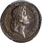 1722 Rosa Americana Halfpenny. Martin 3.6-C.2, W-1222. Rarity-4. DEI GRATIA REX / UTILE DULCI. EF-40