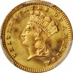 1881 Gold Dollar. MS-67 (PCGS).