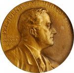 1940 United States Assay Commission Medal. Bronze. 51 mm. By John R. Sinnock and Adam Pietz. JK AC-8