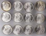 BU Roll of 1884-O Morgan Silver Dollars.
