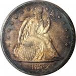1872 Liberty Seated Silver Dollar. OC-P1. Rarity-2. Top 30 Variety. Doubled Die Reverse. Proof-65 Ca