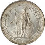 1903/2-B年英国贸易银元站洋一圆银币。