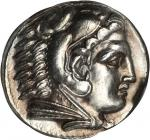 MACEDON. Kingdom of Macedon. Alexander III (the Great), 336-323 B.C. AR Tetradrachm (17.28 gms), Amp