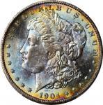 1904-O Morgan Silver Dollar. MS-66+ (PCGS). CAC.