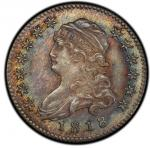 1818/5 Capped Bust Quarter. Browning-1. Rarity-2. Mint State-65 (PCGS).PCGS Population: 8, 4 finer (