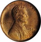 1909-S Lincoln Cent. V.D.B. MS-64 RD (NGC).