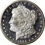 1884-CC Morgan Silver Dollar. MS-65+ (PCGS). CAC.