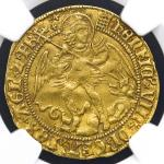 GREAT BRITAIN Henry VIII ヘンリー8世(1509~47) Angel ND(1509-26) NGC-AU55 VF~EF