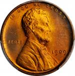 1909 Lincoln Cent. V.D.B. FS-1101. Doubled Die Obverse. MS-66+ RD (PCGS).