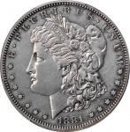1881 Morgan Silver Dollar. Proof-60 (PCGS).