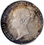 GREAT BRITAIN. 6 Pence, 1859. London Mint. Victoria. NGC MS-64.