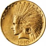 1910 Indian Eagle. MS-61 (NGC).