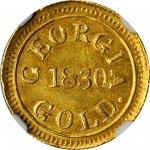 1830年邓普顿2.5美元 NGC MS 61