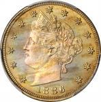 1886 Liberty Head Nickel. Proof-66 (PCGS).