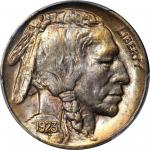 1923-S Buffalo Nickel. MS-65+ (PCGS).