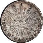 墨西哥。瓜达拉哈拉。1884年8雷阿尔。