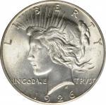 1926-S Peace Silver Dollar. MS-65 (PCGS).