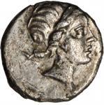 BOSPORUS. Phanagoria. AR Tetrobol (2.17 gms), ca. 109-105 B.C. VERY FINE.