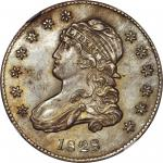 1828 Capped Bust Quarter. B-1. Rarity-1. MS-64 (NGC).