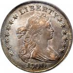 1800 Draped Bust Silver Dollar. BB-187, B-16. Rarity-2. AU-55 (PCGS).