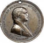 1837 Martin Van Buren Indian Peace Medal. Silver. Third Size. Julian IP-19. Prucha-44. Very Fine.