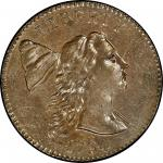 1794 Liberty Cap Cent. Sheldon-18b. Head of 1793. Rarity-4. Mint State-63 BN (PCGS).