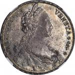 ITALY. Venice. Tallero, 1789. Lodovico Manin (1789-97). NGC MS-62.